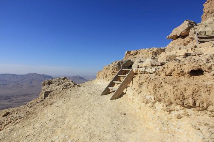 פיתוח טיילת אלברט ומצפור הר גמל- מצפה רמון תמונה 1